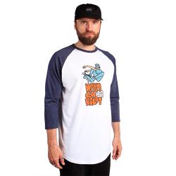 Ollie Baseball T-shirt - White