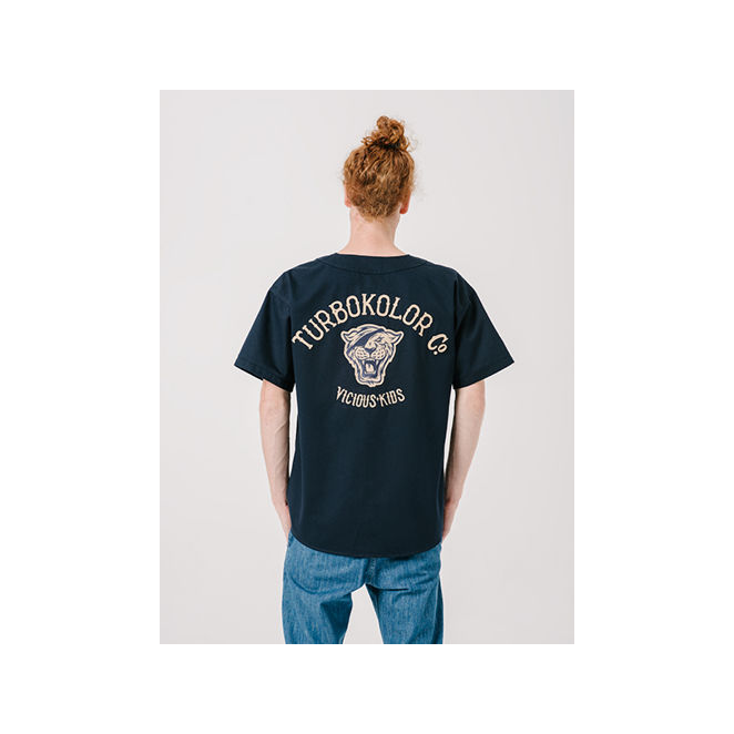 Baseball Jersey - Navy